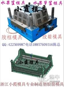 供应优质胶筐模具生产/耐用水果蓝模具价格
