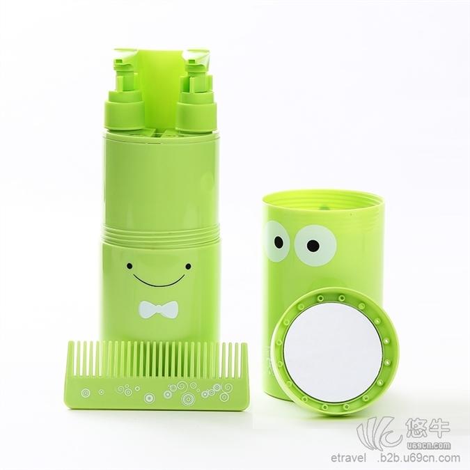 热销出差旅行必备创意洗漱套装牙刷杯套装便携洗漱杯牙刷架