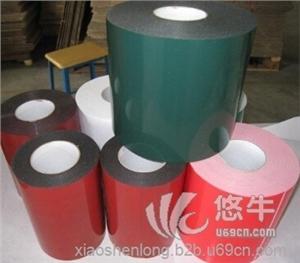 皱纹纸胶带 产品汇 供应茗超3789绿膜白色PE泡棉胶带