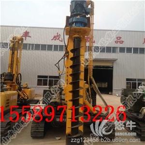 供应专业生产螺旋钻机长螺旋打桩机价格螺旋打桩机厂家