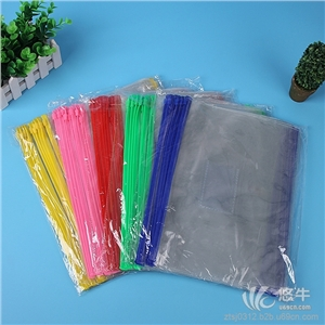 供应PVC拉链袋文件袋资料袋考试袋拉边袋厂家