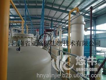亚临界小麦胚芽油生产线