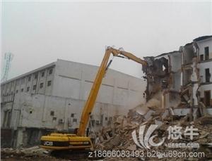 供应挖掘机两段式加长臂,三段式拆楼臂