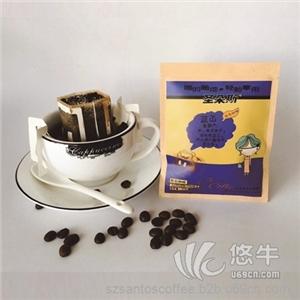 供应圣朵斯七彩蓝山风味挂耳咖啡纯黑咖啡粉进口咖啡豆现磨