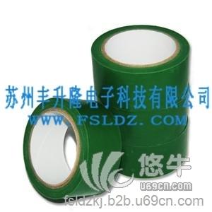 供应绿色高温胶带耐酸碱高温胶带高温绿色保护膜