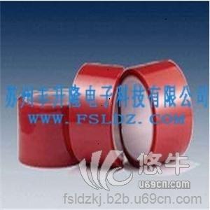 供应红色PET高温胶带 压敏胶高温胶带 红色PET高温胶带