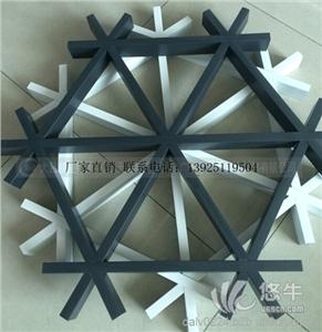 供应商场专用白色铝格栅生产商