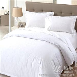 供应潍坊酒店床品布草批发潍坊酒店床单被子被套枕头