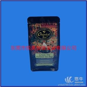 供应八边封袋厂家自立茶叶包装袋定制铝箔复合袋