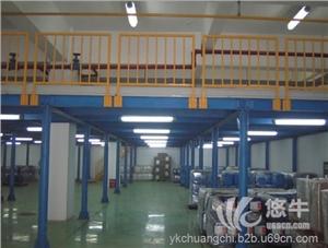 供应创驰钢结构平台货架钢架仓储设备