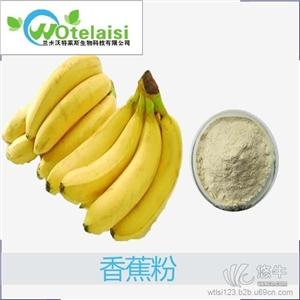 供应兰州沃特莱斯wtls008香蕉粉香蕉速溶粉