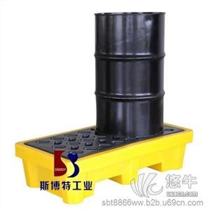 供应双油桶防泄漏托盘