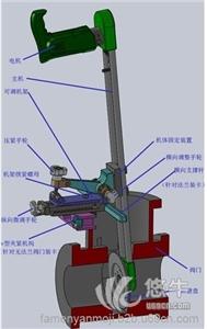 供应阀门修复工具闸阀阀门研磨机MZ系列