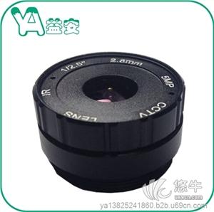 供应深圳益安光学5百万高清安防监控摄像机镜头