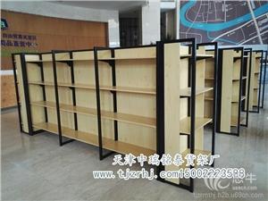 供应天津货架便利店货架超市货架批发定制钢木结构货架