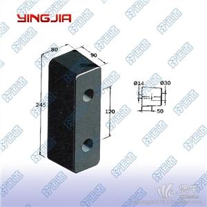 供应好运道08308长方形橡胶减震器橡胶缓冲块