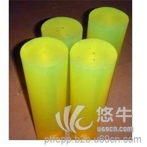 供应A级透明黄色PU棒优力胶卷带牛筋棒弹力软橡胶聚氨酯板