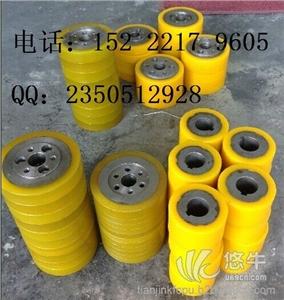 供应天津聚氨酯胶轮包胶,滚轮包胶