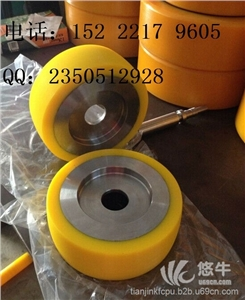 供应天津聚氨酯胶轮,胶轮包胶,聚氨酯包胶