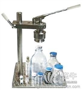 供应台式手动玻璃瓶压盖机