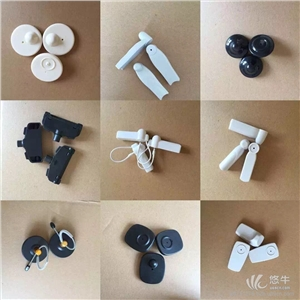 供应声磁服装店防盗器扣声磁防盗磁扣