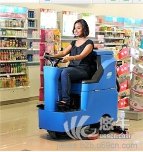 供应容恩R-QQ大型超市用什么洗地机?驾驶室洗地机