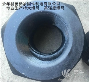 供应M6-M300高强度螺母|特大螺母厂家高强度螺母|特大螺母