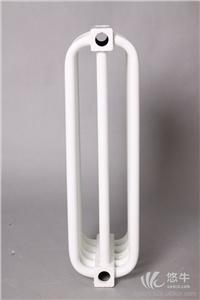 供应德澳QFGGY钢制弯管蒸汽散热器批发蒸汽弯管三柱散热器