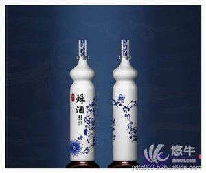 供应陶瓷酒瓶定做厂家 景德镇酒瓶批发价格陶瓷酒瓶