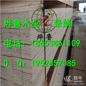 供应滨州托盘专用LVL木方 杨木顺向板条滨州LVL木方