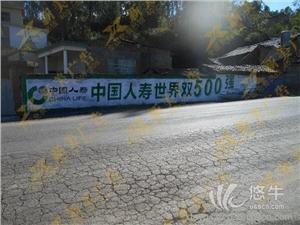 四川广安墙体广告