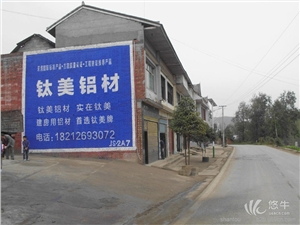 供应汕头墙体广告-广东墙体广告-房地产围墙广告设计
