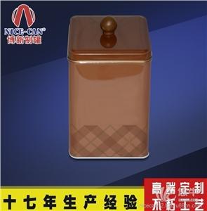 铁罐金属罐 产品汇 供应制罐厂家方形茶叶罐定制 茶叶铁盒供应马口铁茶叶铁罐