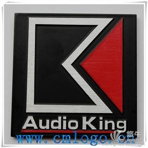 酒店标识标牌 产品汇 供应专业音响金属标牌压铸丝印LOGO铝制铭牌标牌