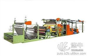 烫金布料 产品汇 供应服装布料复合机LD-061D1_洲通机械服装布料复合机