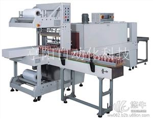 供应亨阳全自动PE膜封切包装机矿泉水膜包机全自动袖口式封切机