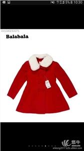 供应国内一二线童装折扣店官网请找世通服饰巴拉巴拉棉衣