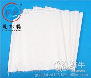 白色覆膜防水编织袋