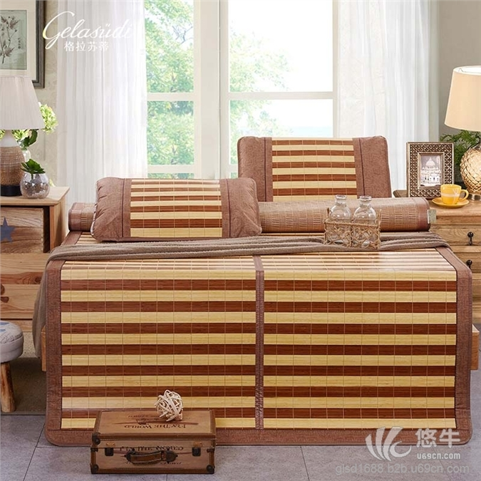 双面折叠竹凉席