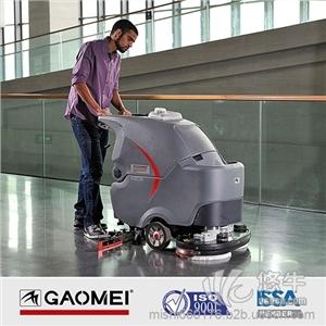 供应赣州手推式洗地机高美GM85BT赣州手推式洗地机
