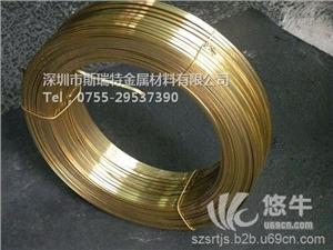 供应H70黄铜扁线,异性铜线定做H70黄铜扁线