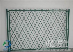 供应耀佳刀片刺绳防护网安装便利经济实用防腐刀片刺绳防护网