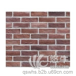供应青山文化石红砖外墙仿古砖QS-9025复古红砖外墙文化砖