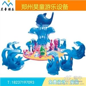 供应昊童游乐ht-2442大型激战鲨鱼岛厂家