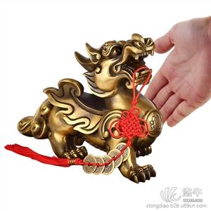 供应中国铜雕产业网辟邪、挡煞佳品DW-3貔貅