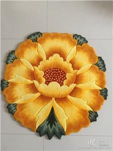 圆形金属罐 产品汇 供应卡通图案圆形地垫腈纶印花地毯