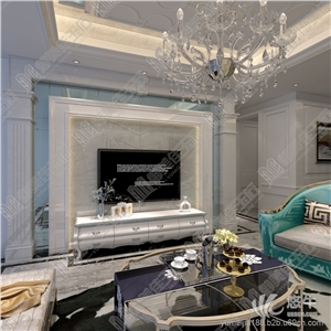 供应南浔厂家定制背景墙 欧式系列产品精美雕刻客厅背景墙定制