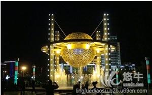 供应天津雕塑大型灯饰景观镂空玻璃钢雕塑天津雕塑灯饰景观雕塑