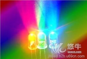 供应工艺礼品用插件发光二极管,玩具电子用直插LED灯珠