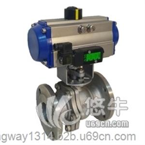 供应群威/KNQ641F-16气动球阀